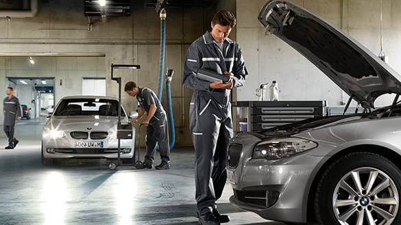 BMW Mechanic Santa Clara Working