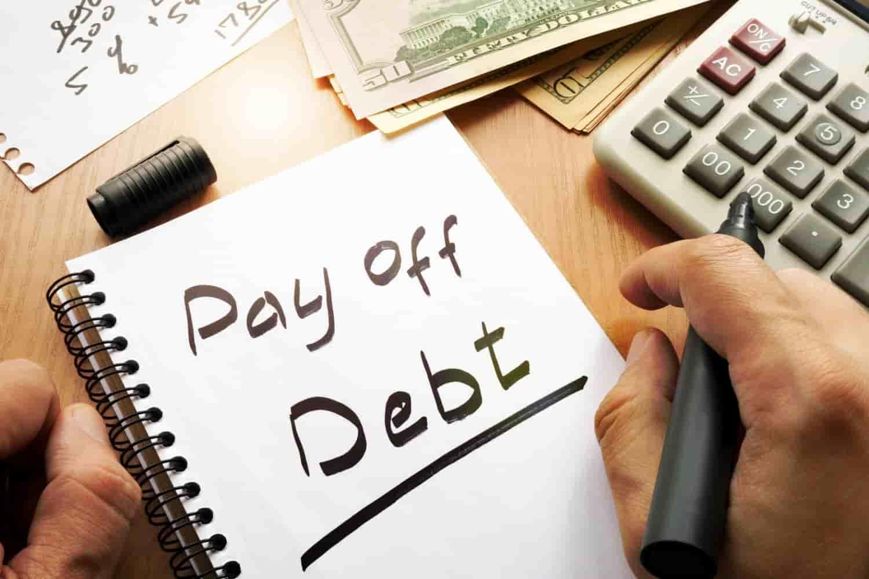 Keep credit balances low and pay off debts