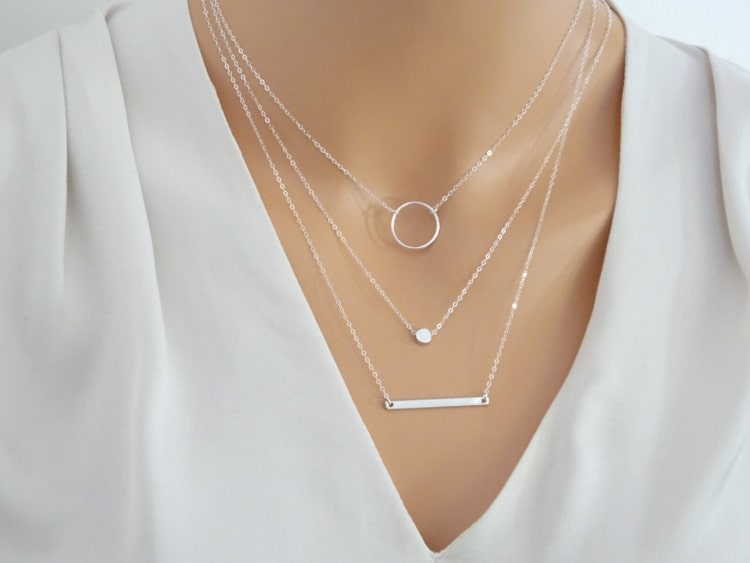Maintaining your layered necklace