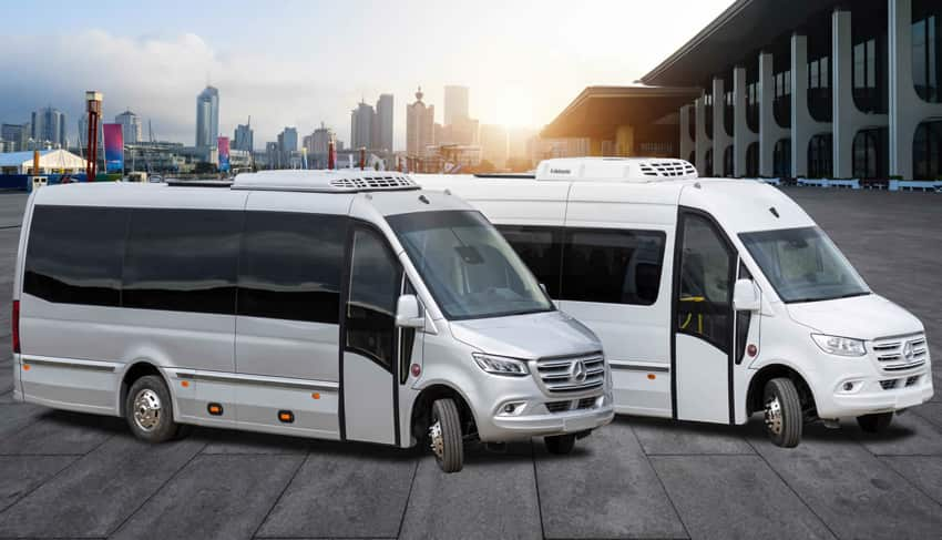 Minibus are perfect for game and school tours