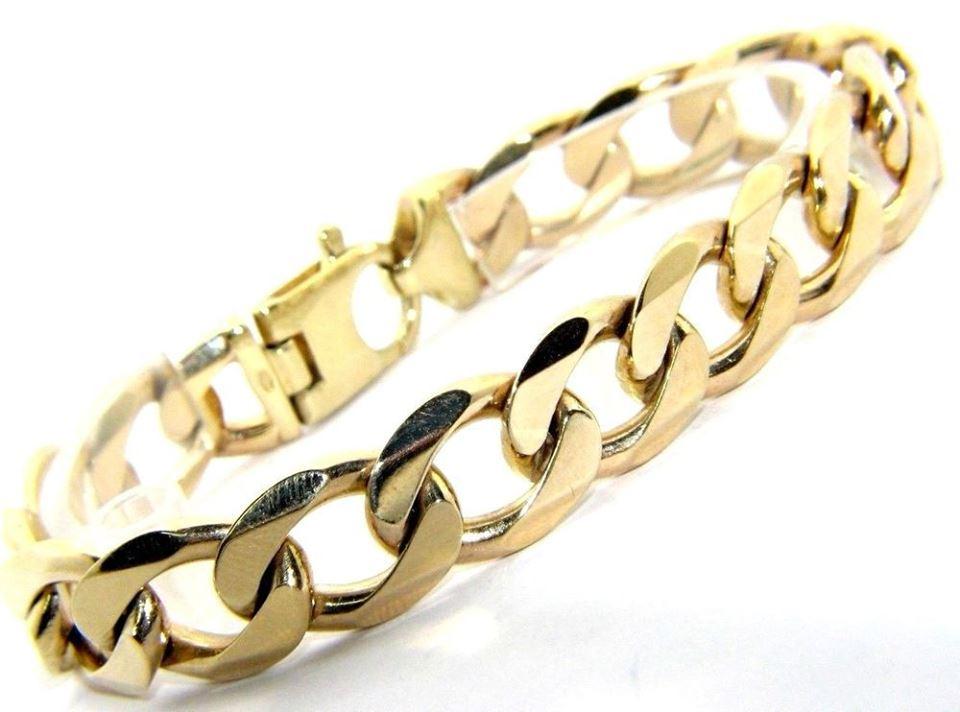 Gold Bracelets 9 Carat | Custom Bracelets with Name
