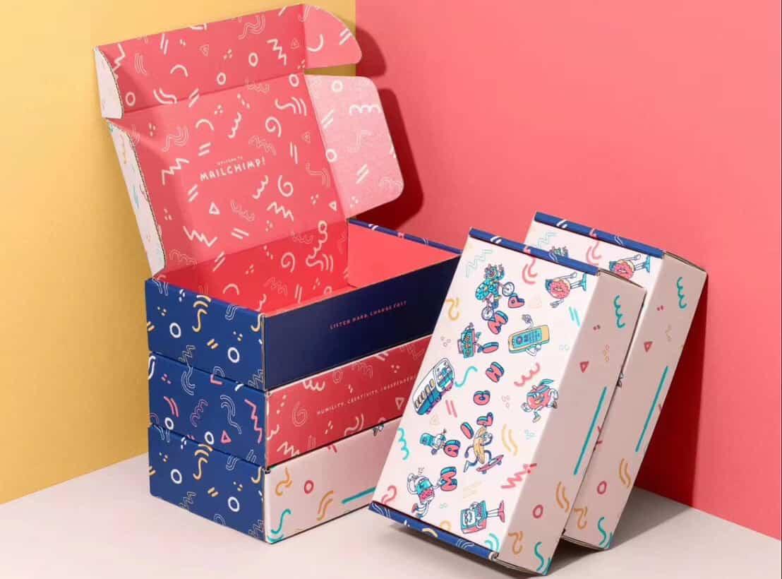 Elegant custom printed boxes