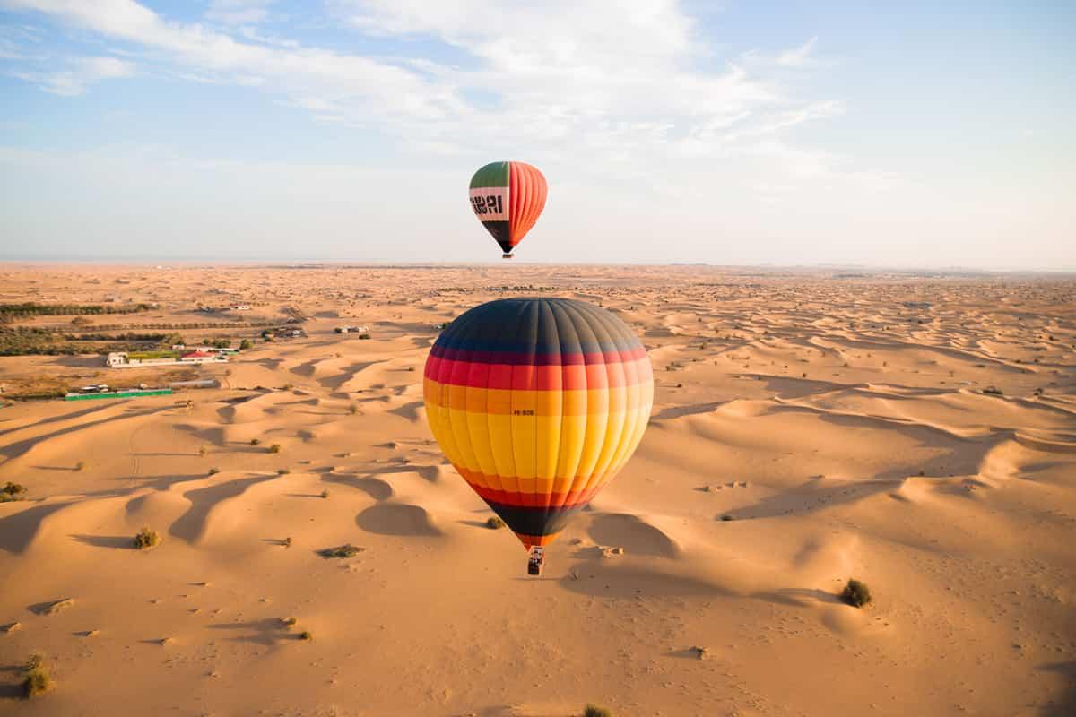 Hot Air Balloon Ride - Spirit airlines flight ticket