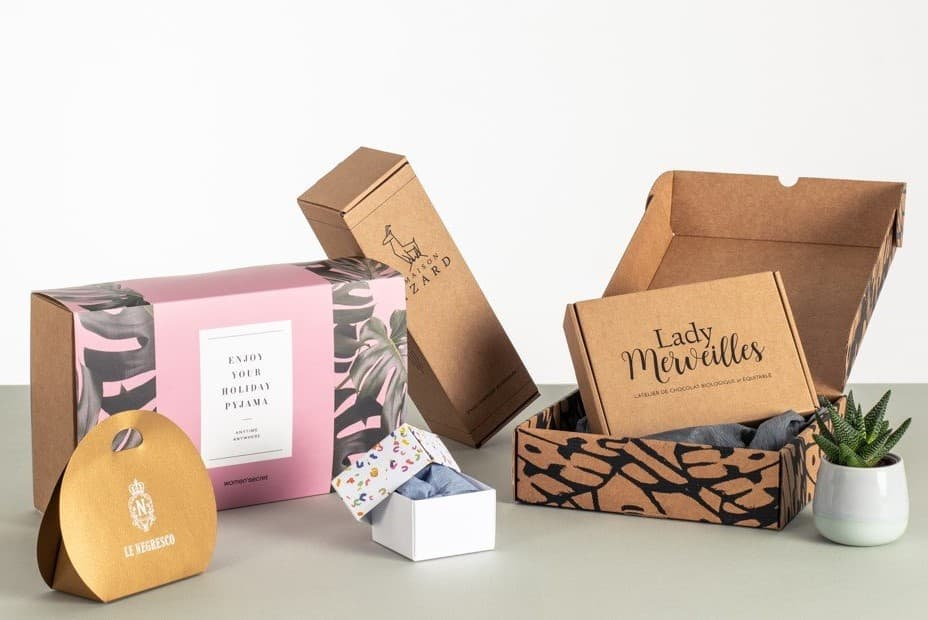 Let's Standup You Products with Elegant custom printed boxes