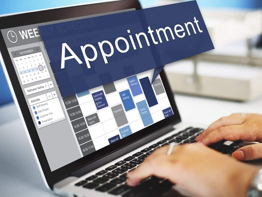 Uses of business appointment scheduling software