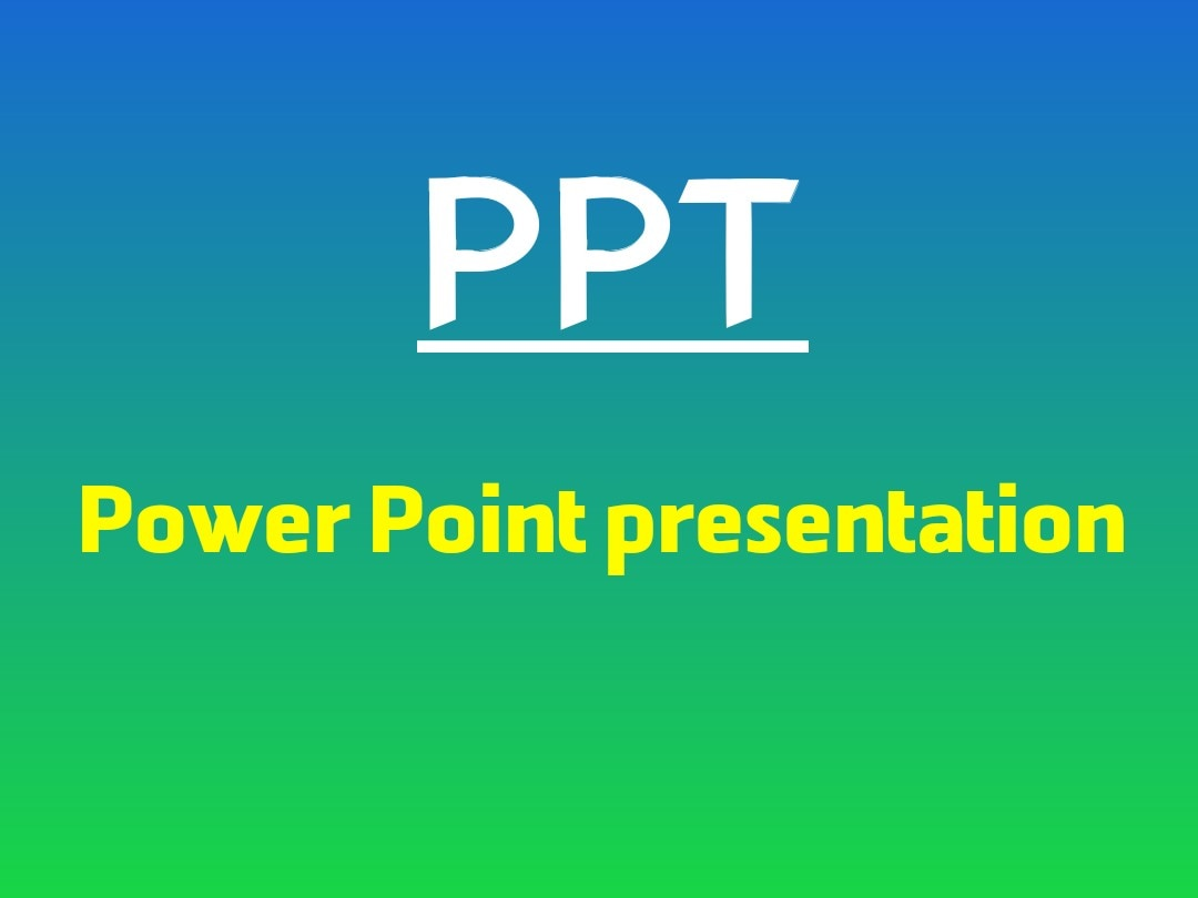 The structure of the PPT should be easy to follow