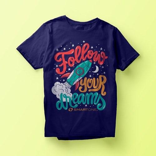 Design and Print T-Shirts