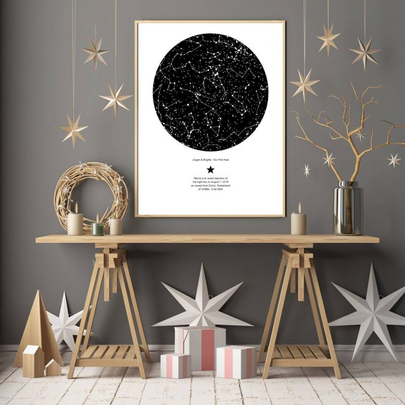 Star maps gift is a unique gifting idea
