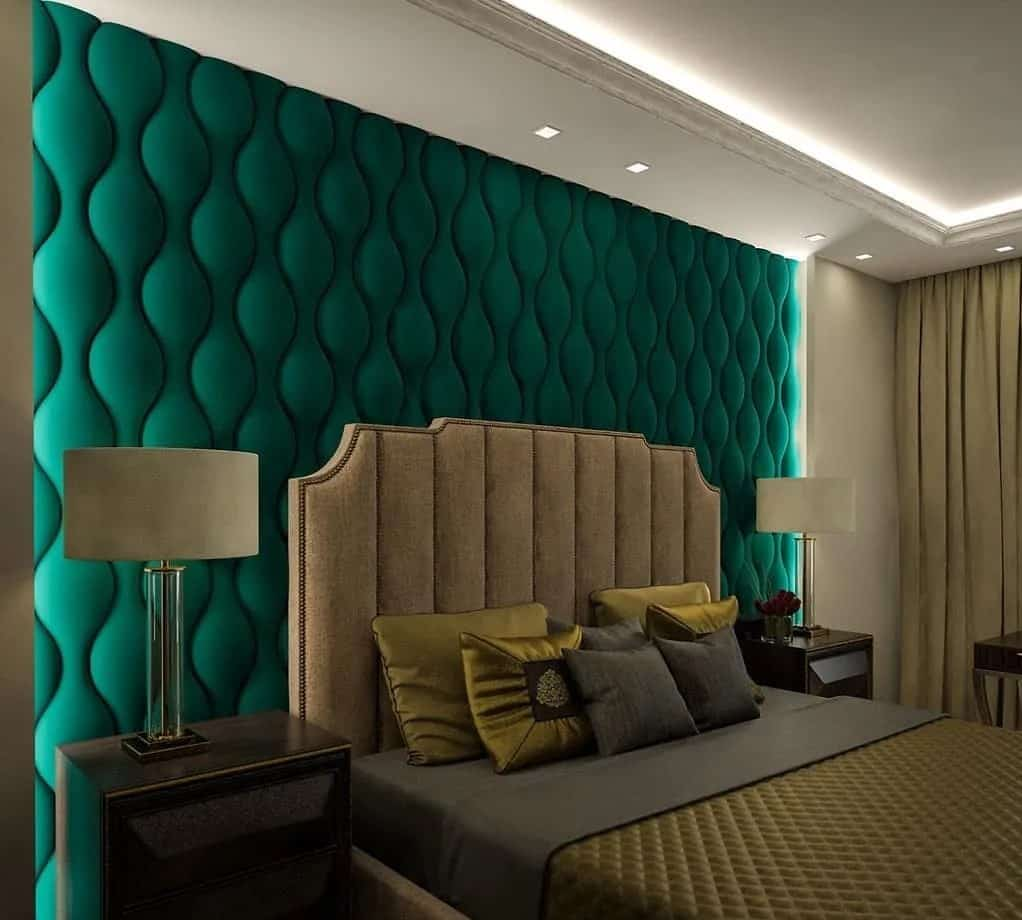 Wall panelling for attractive walls