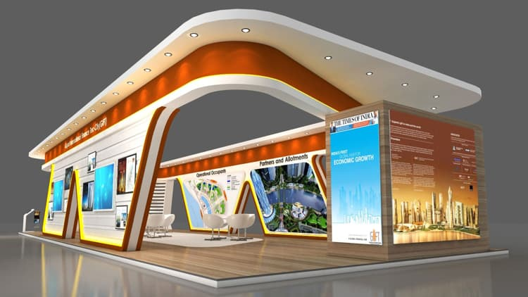 An Exhibition Stall