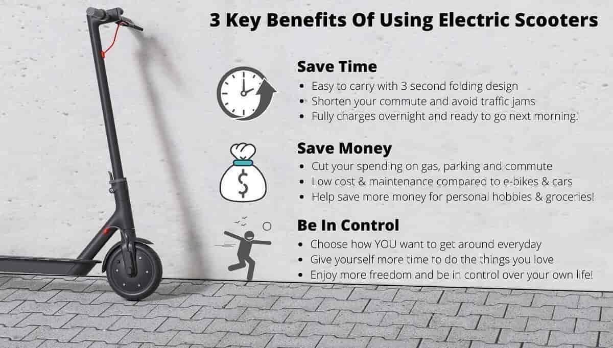 Benefits Of Electric Scootors