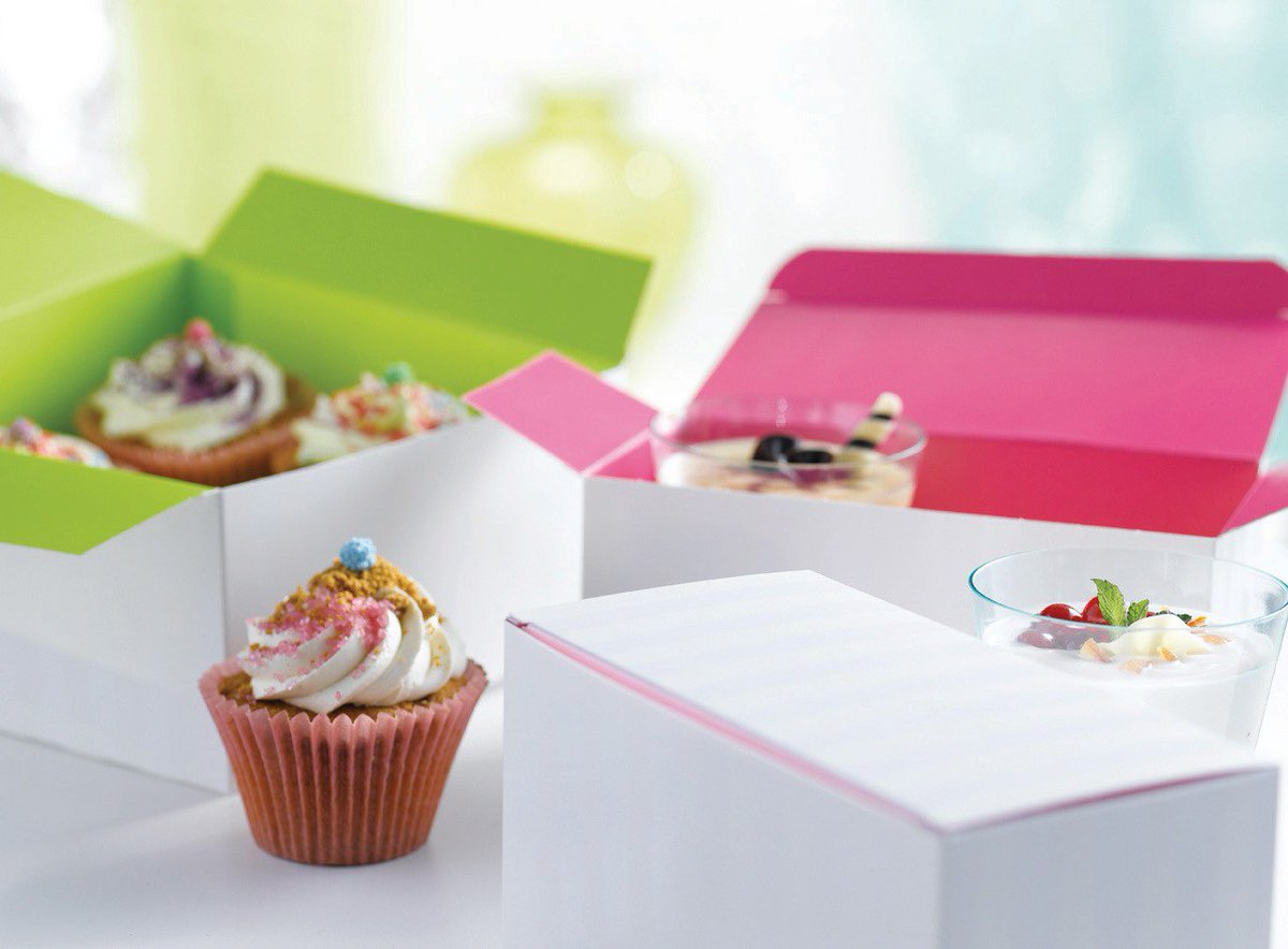 Customizable Packaging of cupcakes increases their value by stylizing their outlook