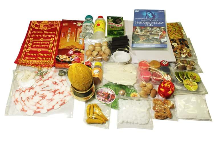Essentials needed for Hindu Pujas