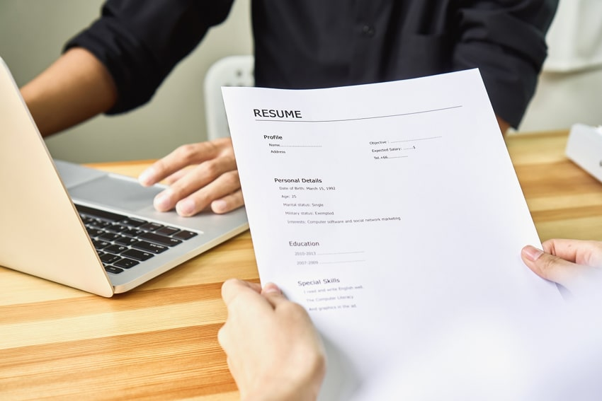 Perfecting resume and CVs
