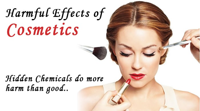 Side Effects Of Using Cosmetic Products