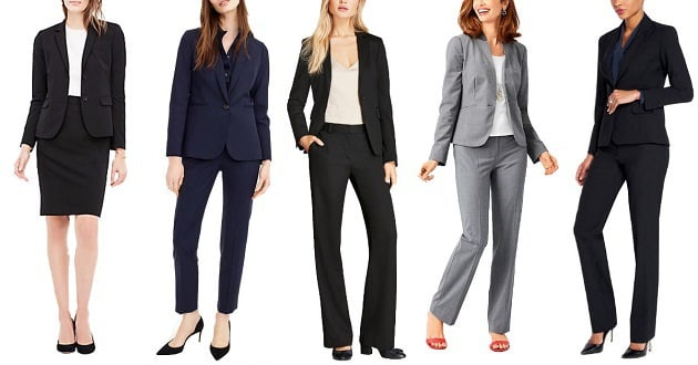 Stylish women pants and coats