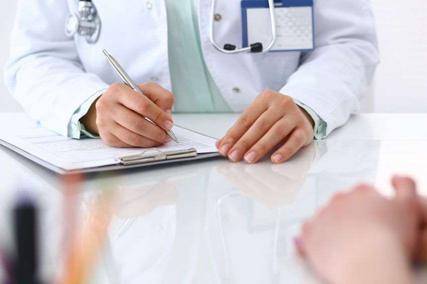 Submission of necessary documents like medical reports before obtaining a job