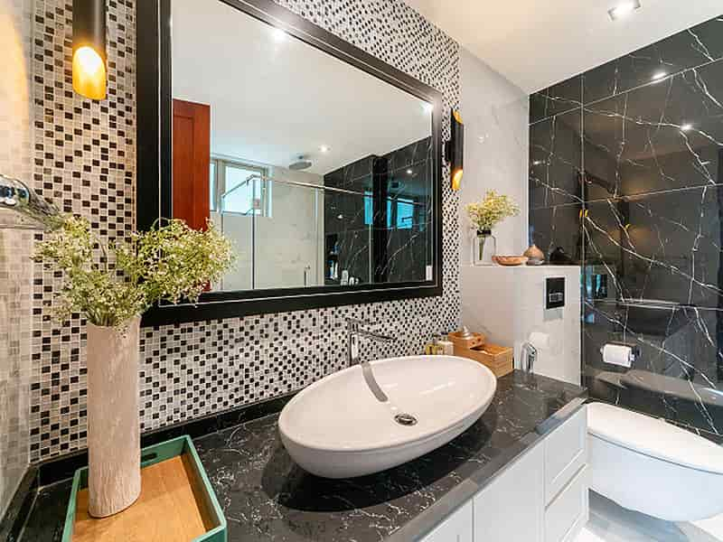 With Mirrors Make Your Bathroom Look More Beautiful
