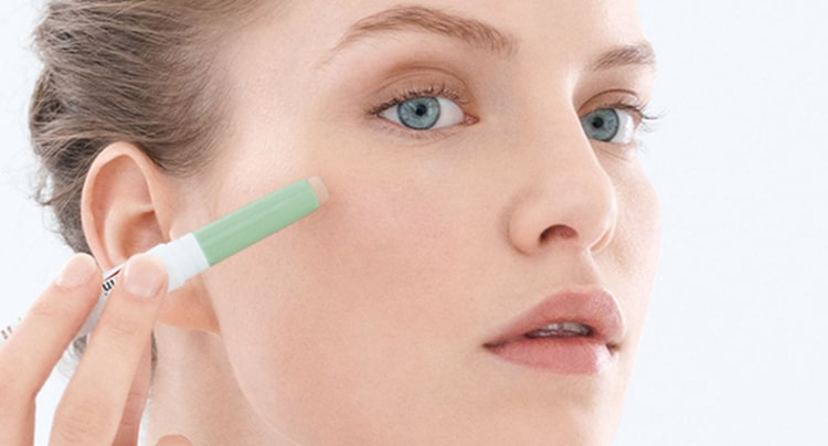 concealer works for pimples too