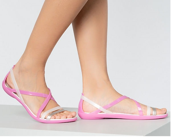 Steven Jive Croc Embossed Slip-on Sandal