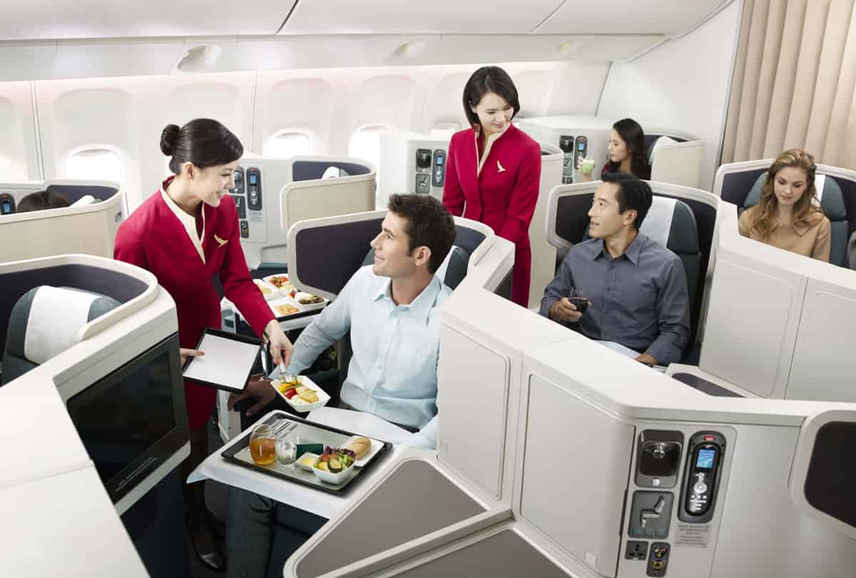 Cathay Pacific Airlines Reservations cabin