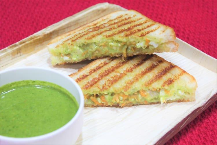 Delightful Bombay sandwich