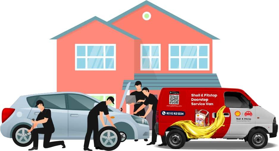Doorstep servicing