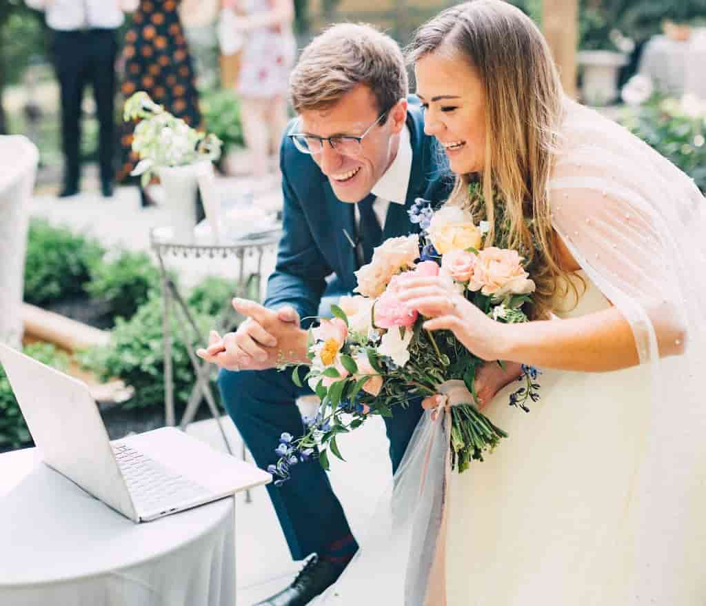 How to Plan a Socially Distant Wedding with zoom wedding