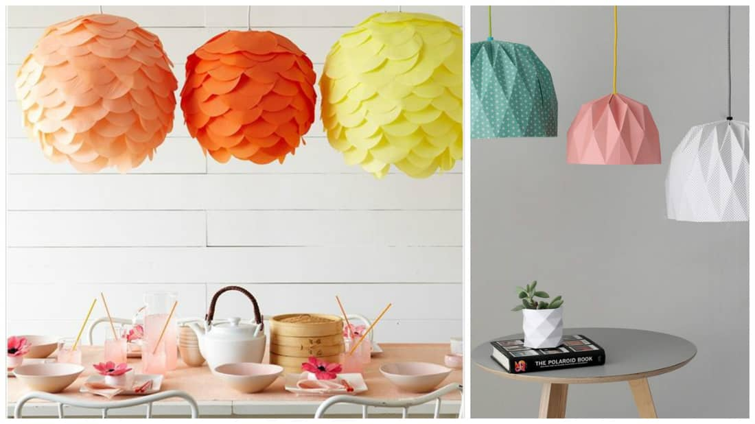 Paper cup lanterns to decorate your home