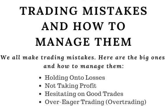 Track Trades and Analyse Mistakes