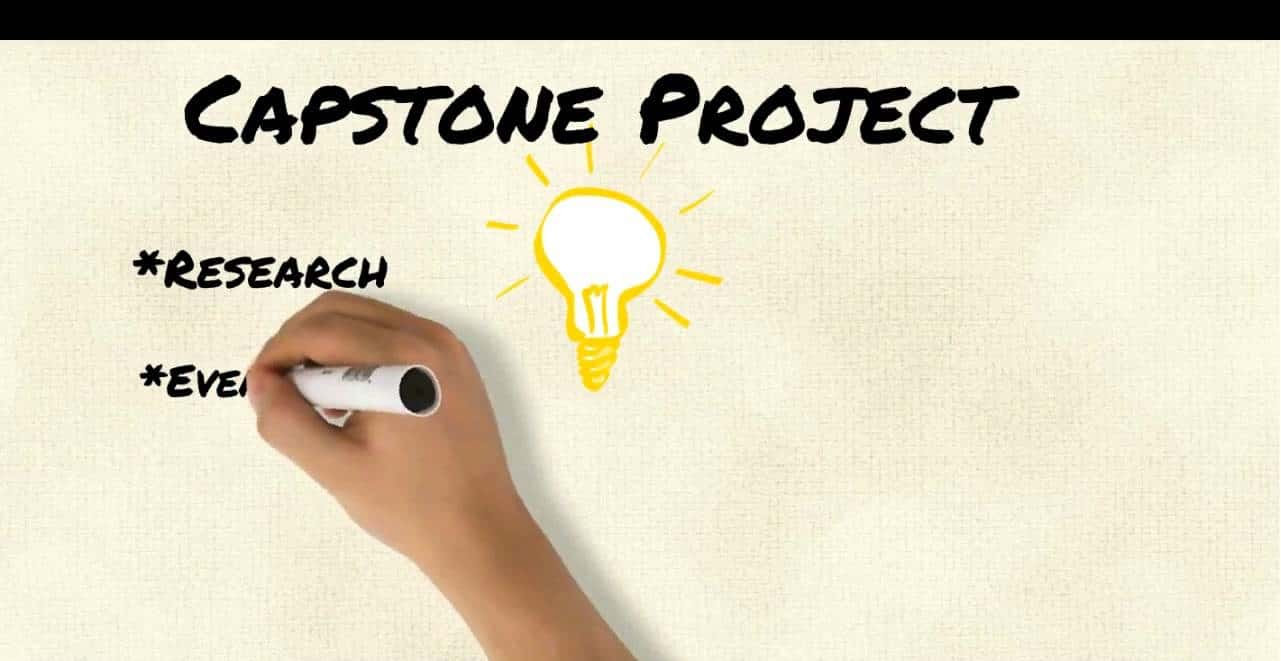 5 Step process to a perfect Capstone Project