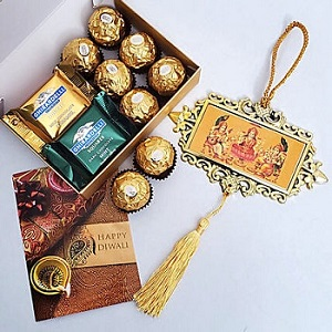 Chocolate Boxes In Diwali Present
