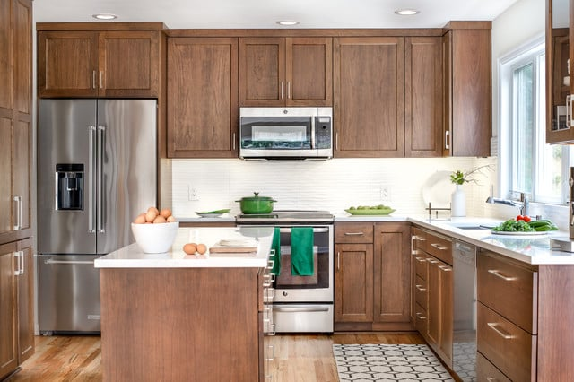 Clean and Tidy kitchen cabinets