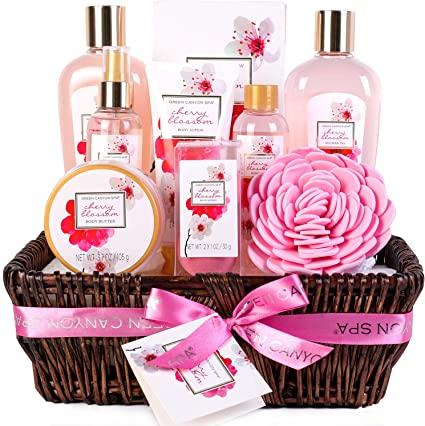 Gift basket of November Born favorite cosmetic