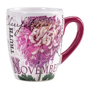 Give Coffee and coffee mug To November Born
