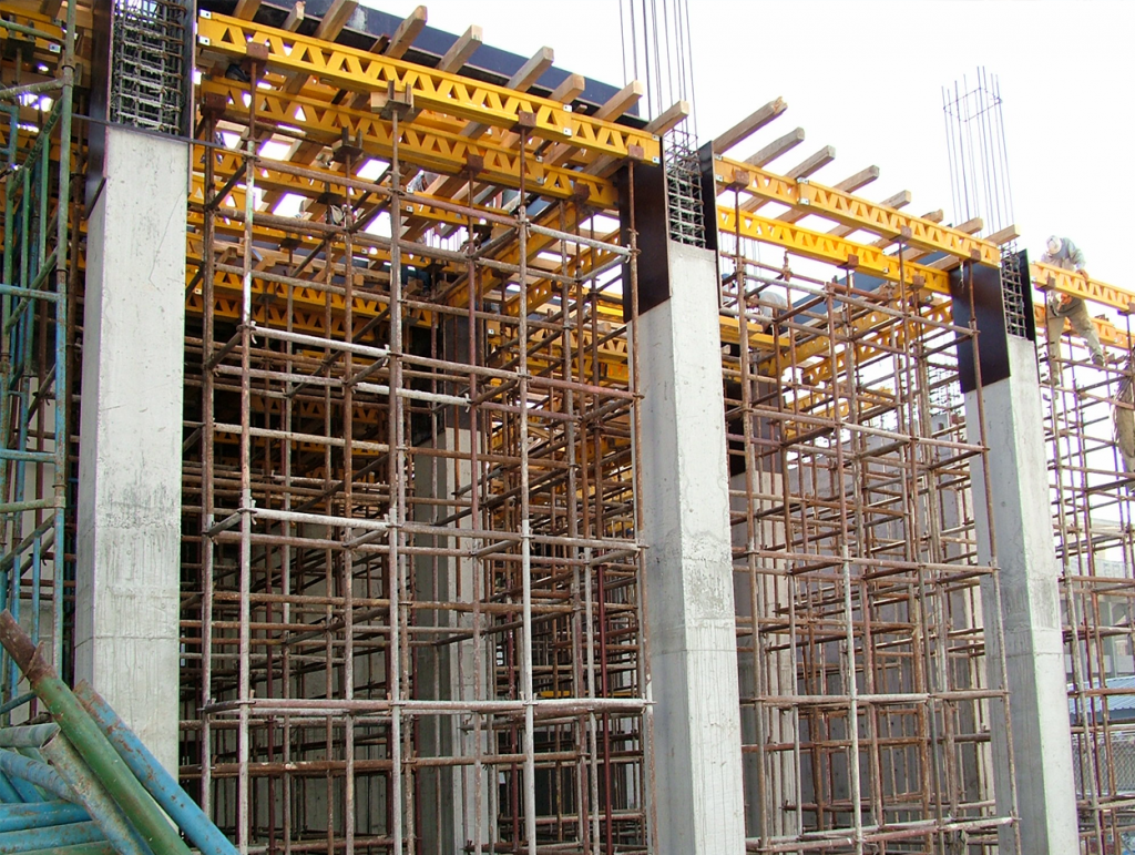 Scaffolding products on rent