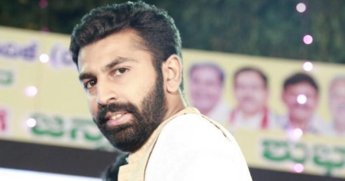 How Mohamed Haris Nalapad become a Bangalore District Youth Congress leader?