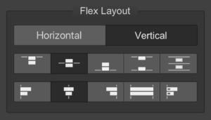Using a FlexBox Layout create a web page