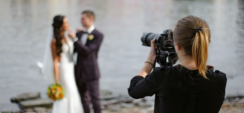Pick a photographer and videographer