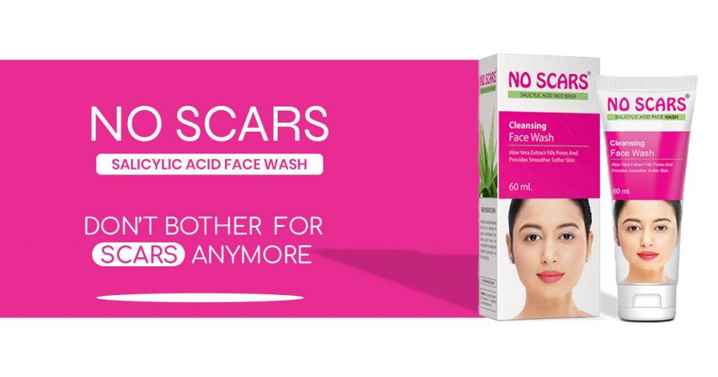 no scars skin face wash price