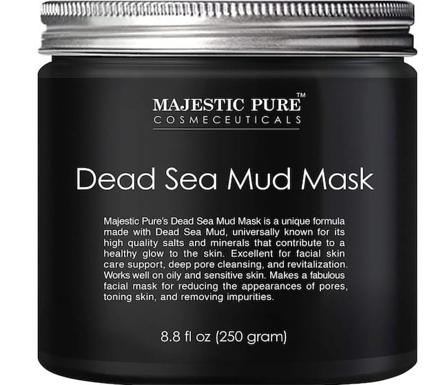 beauty products with Dead Sea mud mask