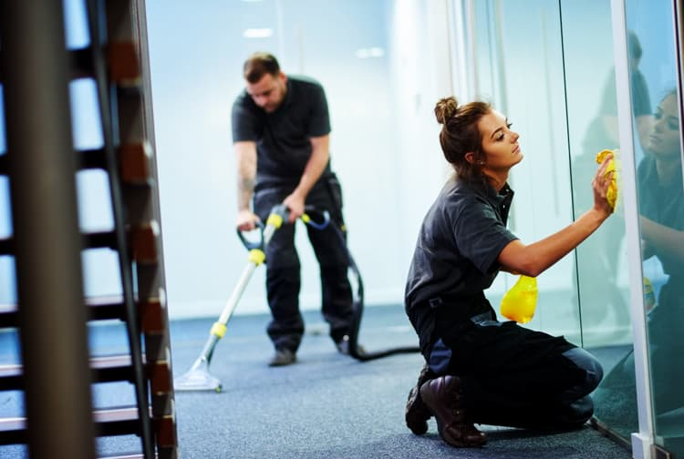 professional glass cleaning service