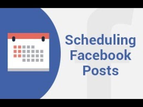 Schedule Post on Facebook