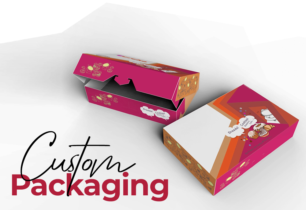 GRAB YOUR CLIENT'S ATTENTION WITH CUSTOM PACKAGING