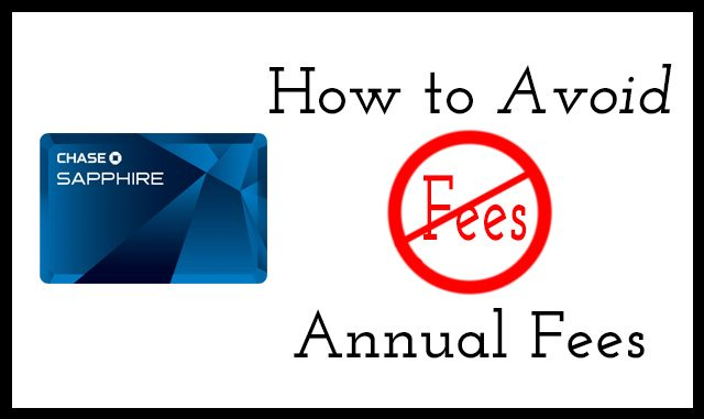 Avoid Credit Cards Annual Fees