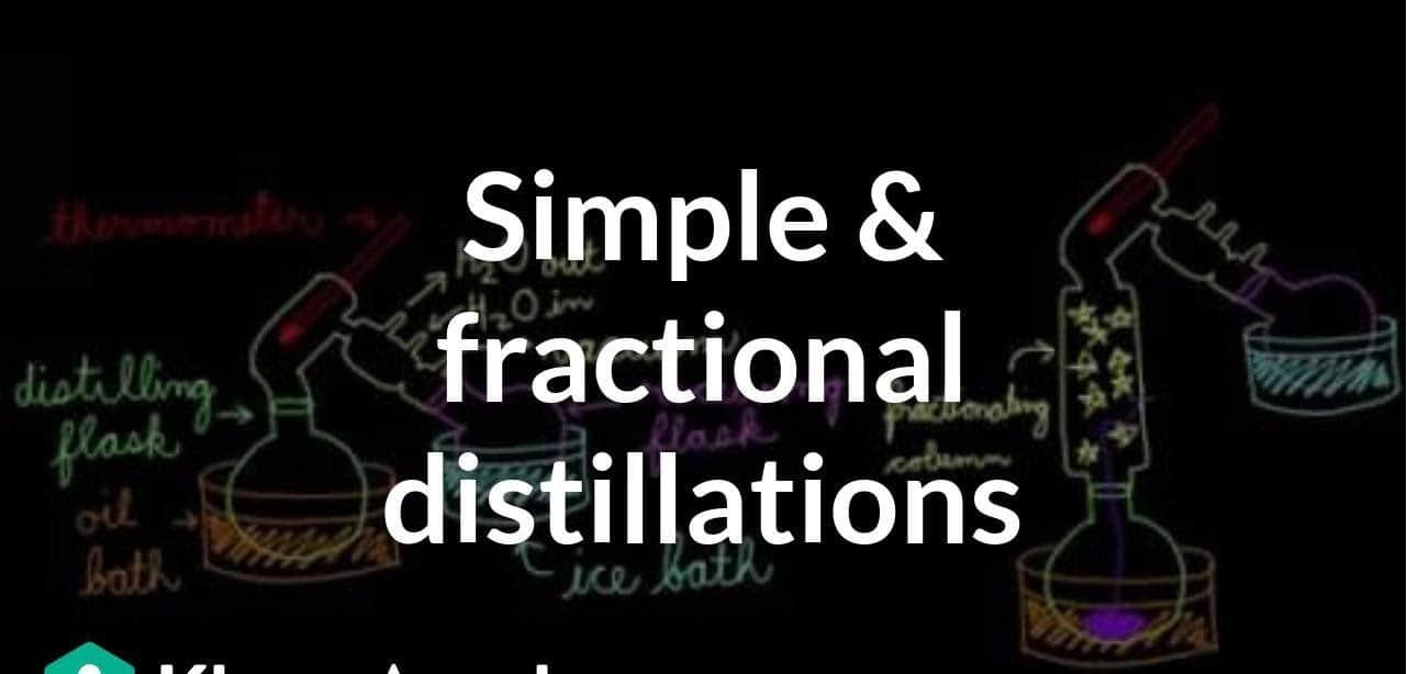 People Prefer Distillates