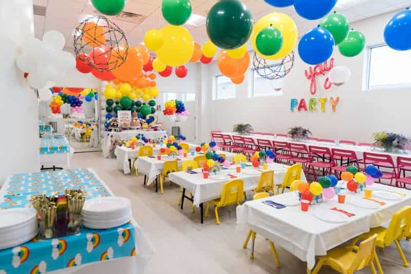 Spruce up the place for birthday party for kids