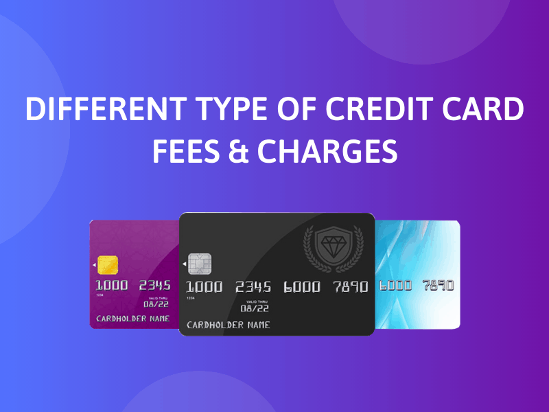 Types of Fees in Credit Cards