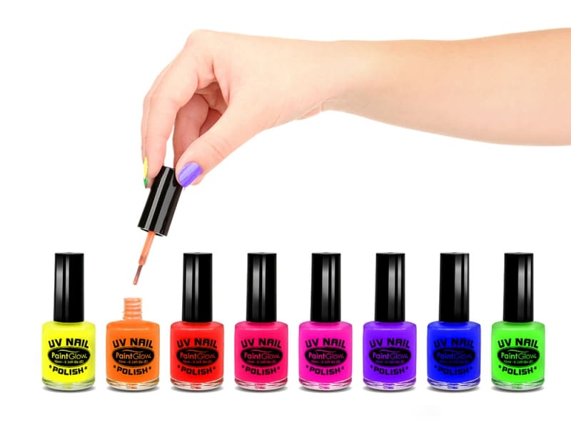 Utilize fluorescent inks