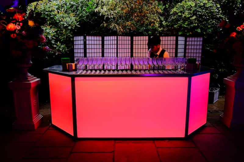 Different Services Provided by a Mobile Bar Hire Company